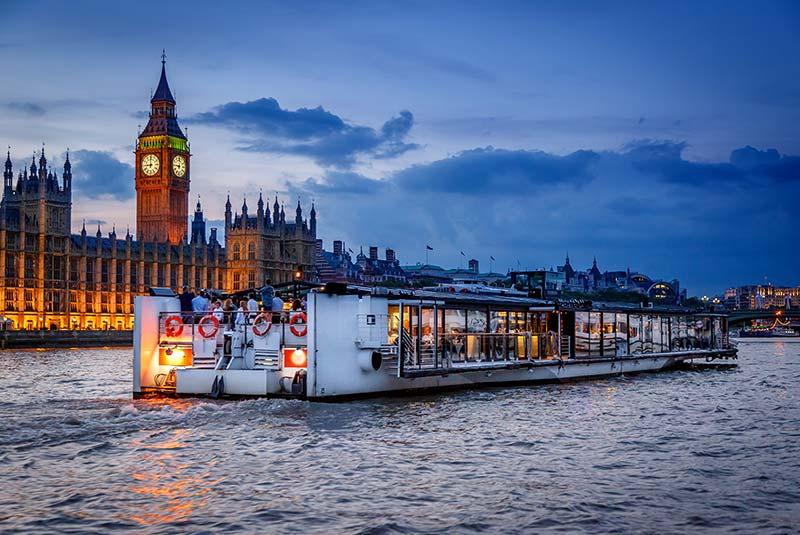 رود تیمز لندن - قایق های بتو لندن