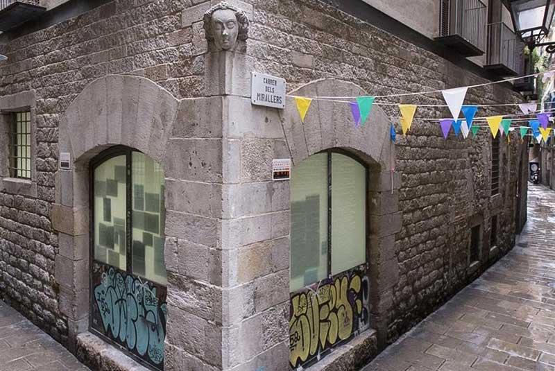 خیابان کرر دلس میرایرس در بارسلونا