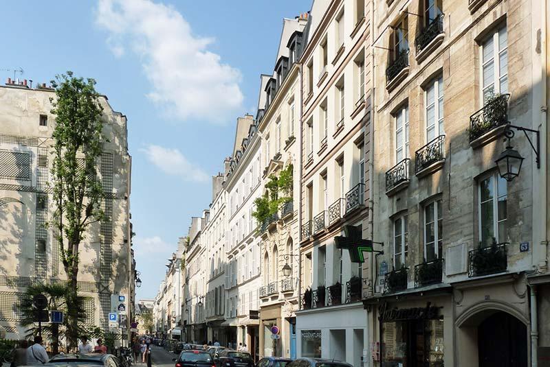 خیابان سن در پاریس