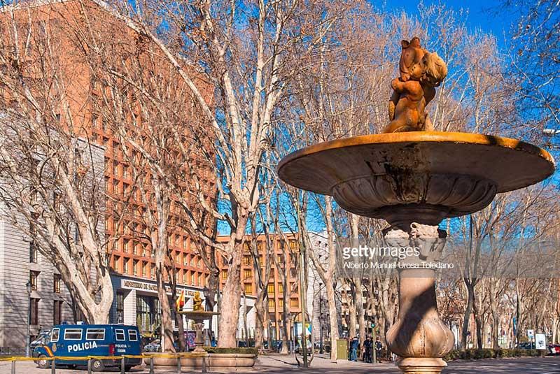 خیابان پسئو دل پرادو در مادرید