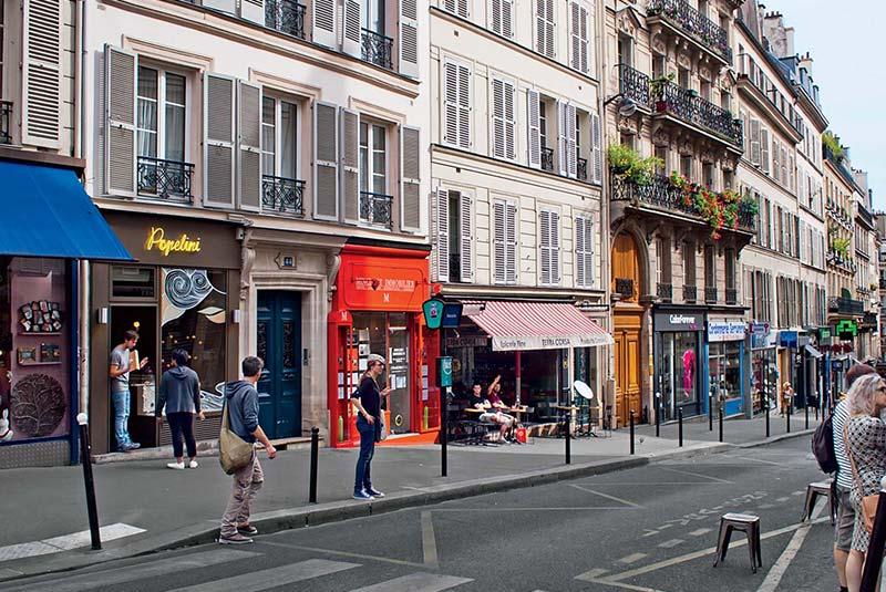 خیابان مارتیر در پاریس