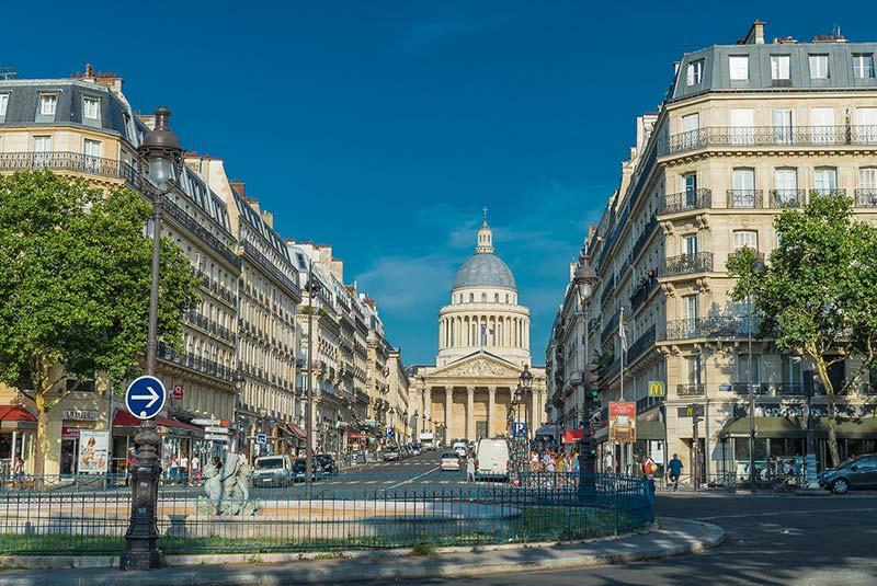 خیابان سوفلو در پاریس