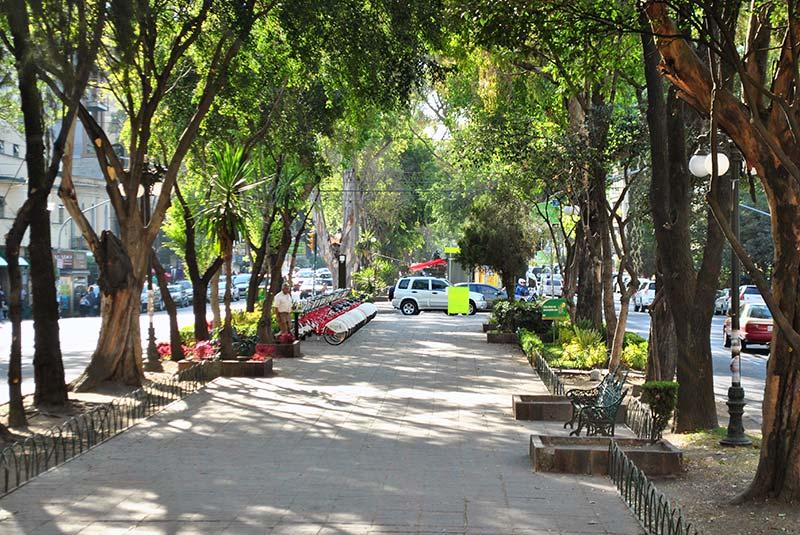 خیابان های مکزیکوسیتی