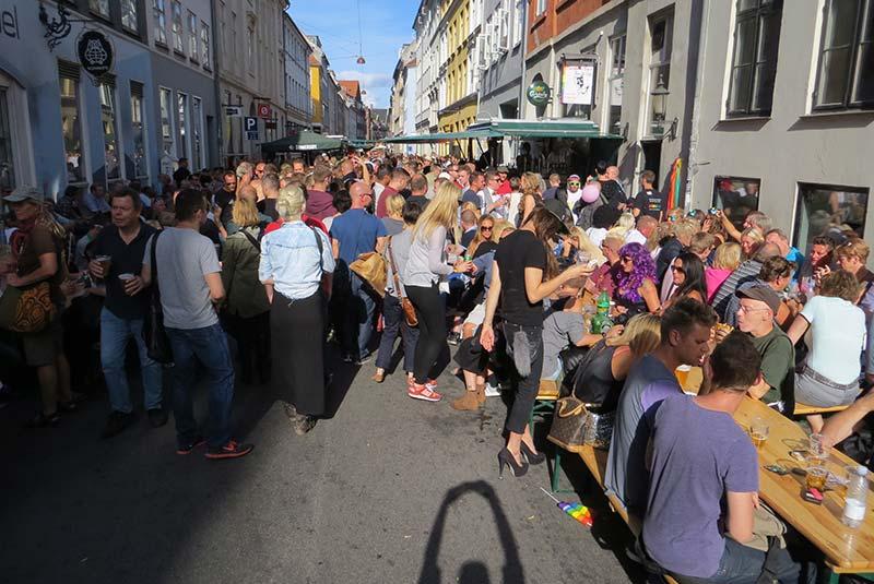 خیابان های کپنهاگ