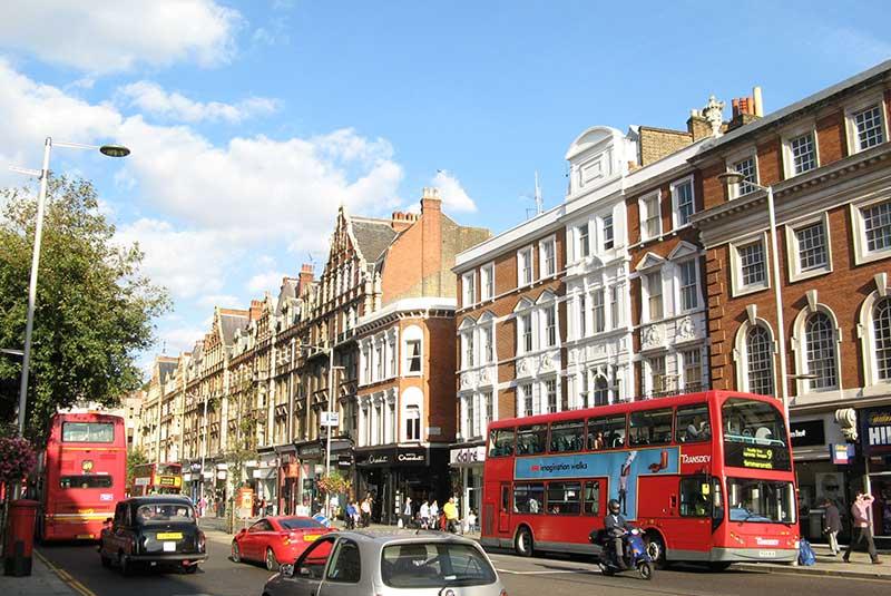 خیابان های لندن