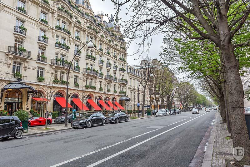 خیابان مونتین پاریس