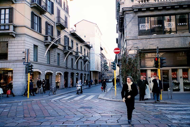 خیابان های میلان