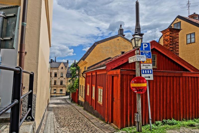 خیابان های استکهلم