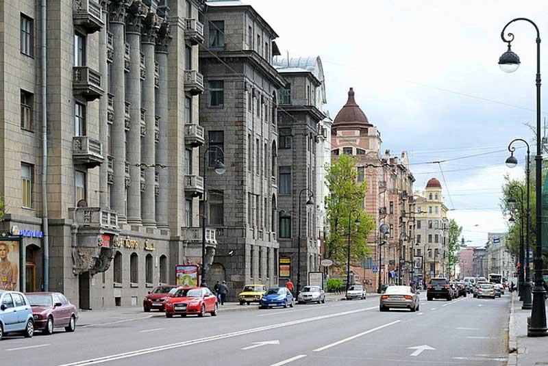 خیابان های سن پترزبورگ