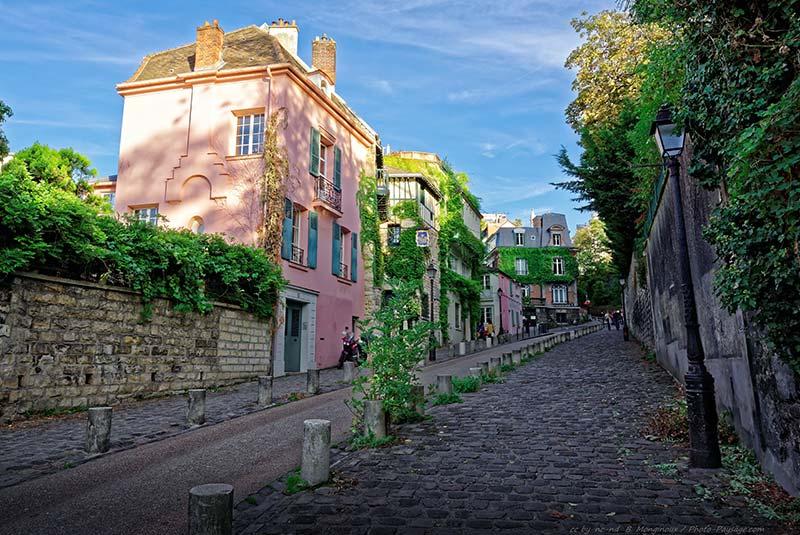 خیابان آبره ووار در پاریس