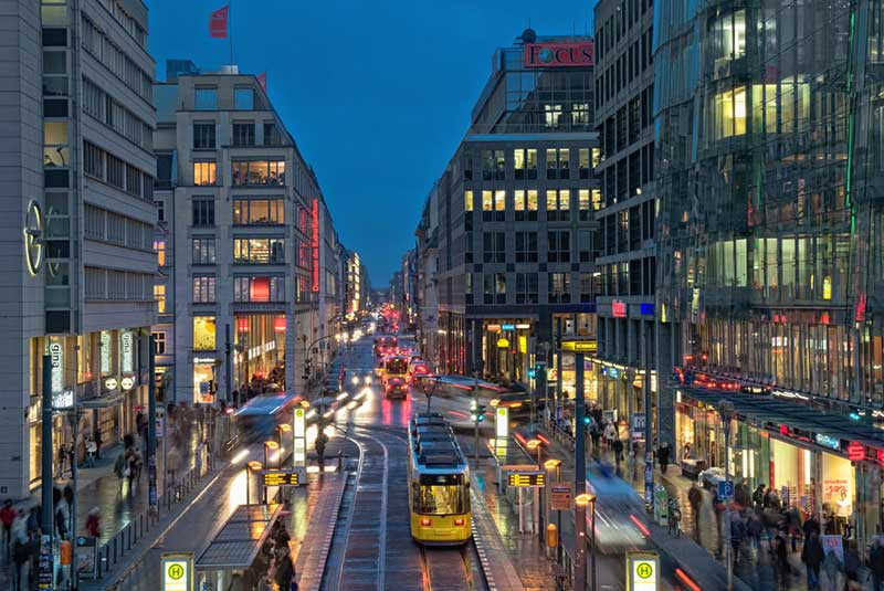 خیابان های برلین