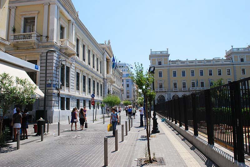 خیابان های آتن