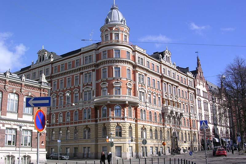 خیابان های هلسینکی