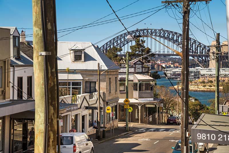 خیابان های سیدنی