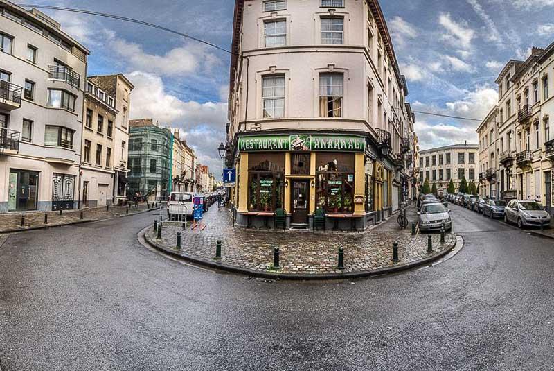 خیابان های بروکسل