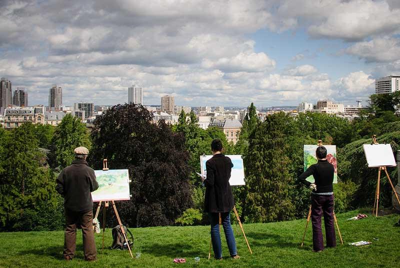پارک بوت شومون در پاریس
