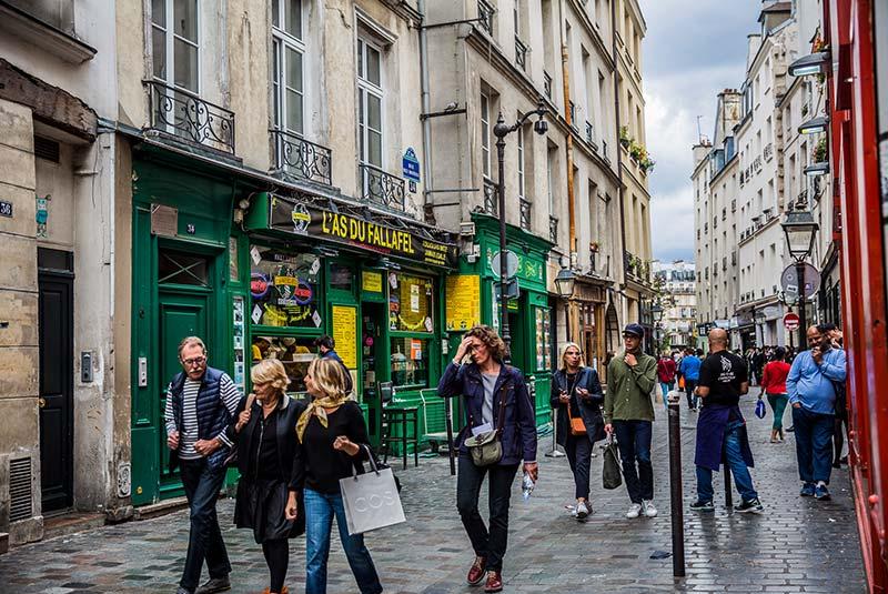 خیابان رزیه پاریس
