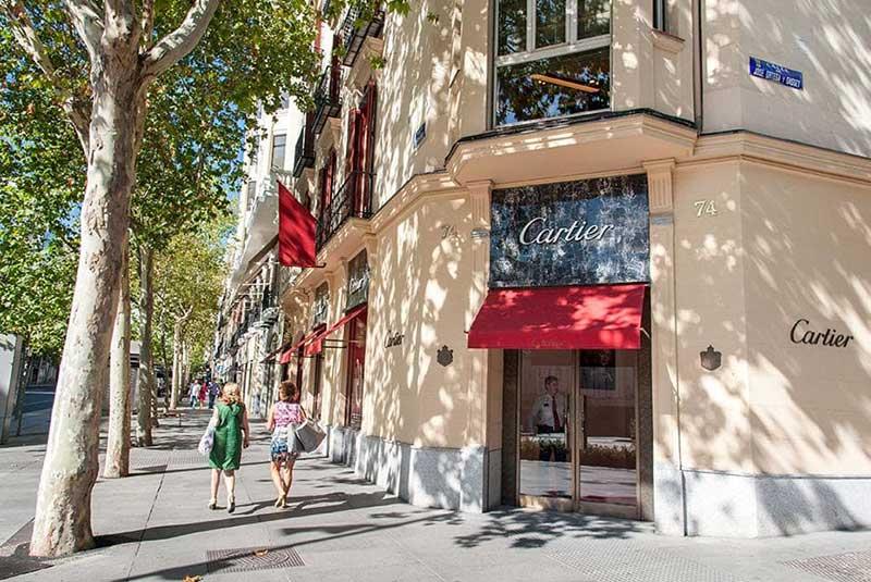 خیابان سرانو در مادرید
