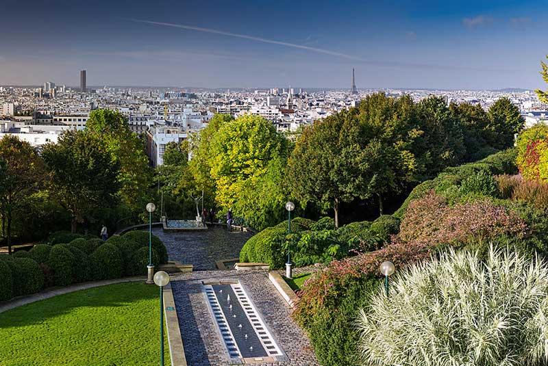 پارک بلویل پاریس