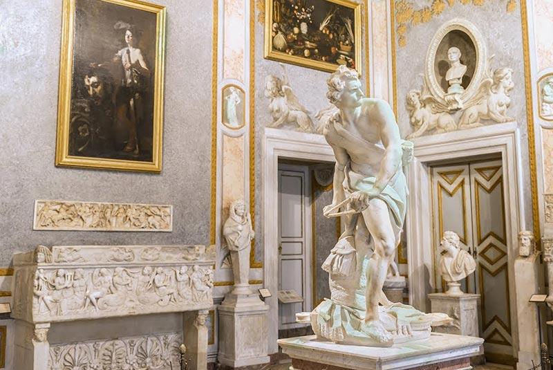 گالری بورگز در رم