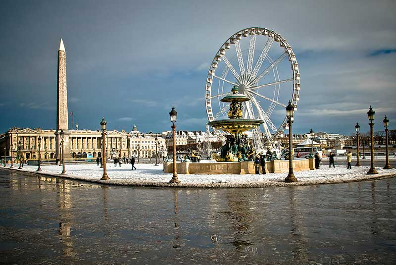 چرخ و فلک میدان کنکورد پاریس