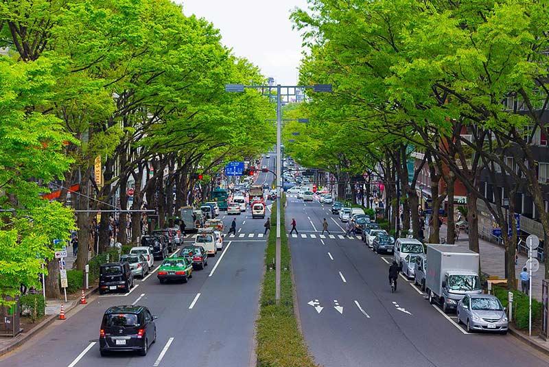 خیابان های توکیو