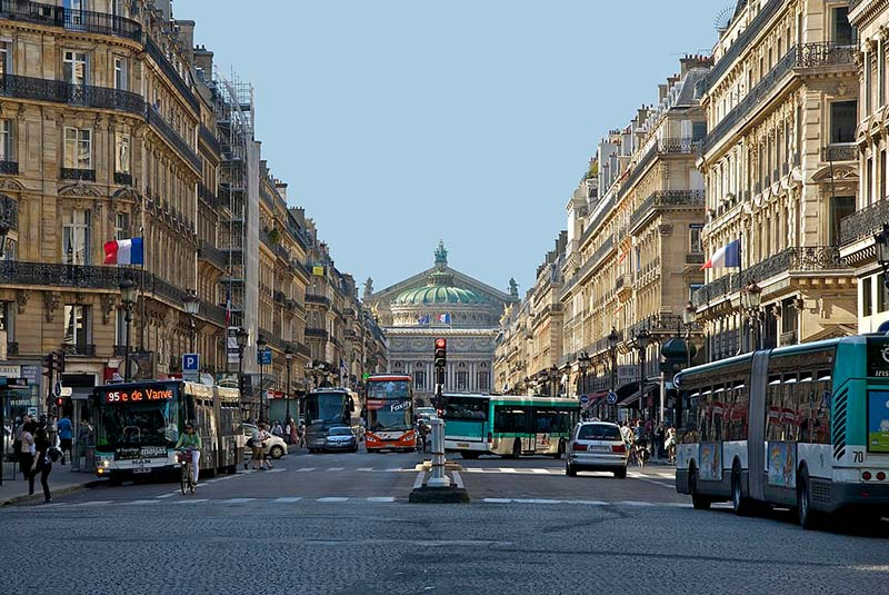 خیابان اپرا پاریس