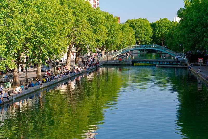 کانال سنت مارتین پاریس