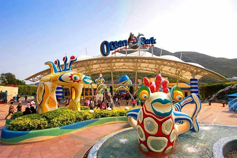 اوشن پارک در هنگ کنگ