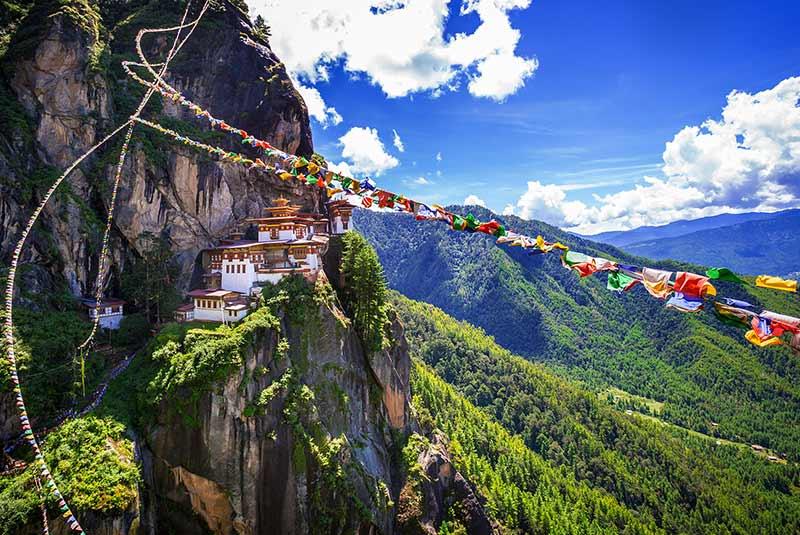 بوتان در آسیا