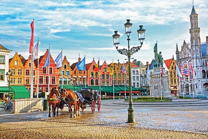 شهر بروژ در بلژیک