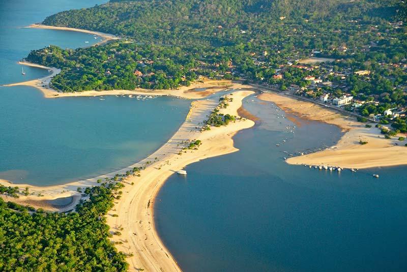 جزیره آلتر دو شائو در برزیل