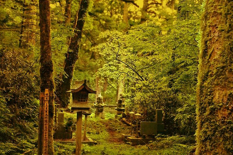 کوه کویا در ژاپن