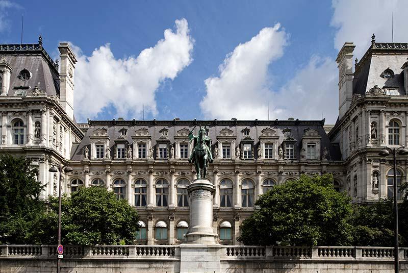 ساختمان شهرداری پاریس