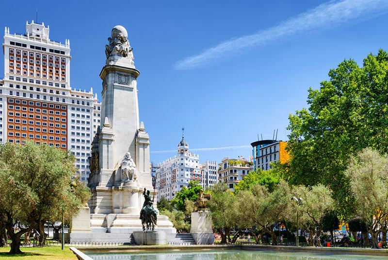 میدان اسپانیا در مادرید