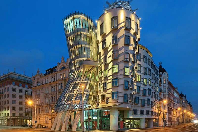خانه رقصان در پراگ