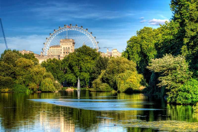 پارک سنت جیمز در لندن