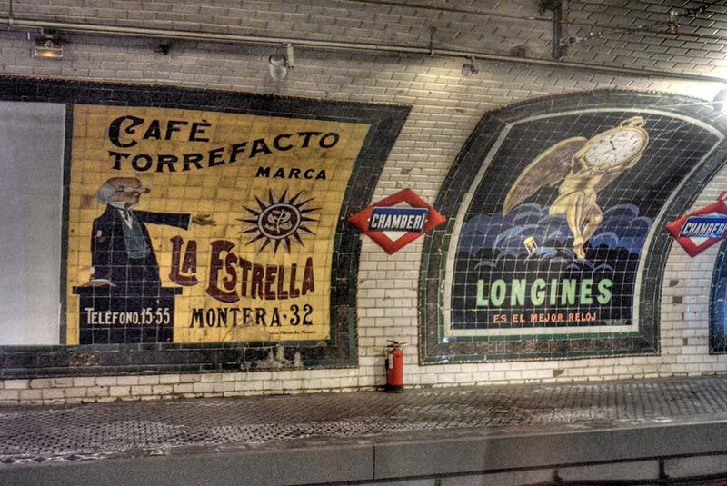 ایستگاه مترو چامبری در مادرید