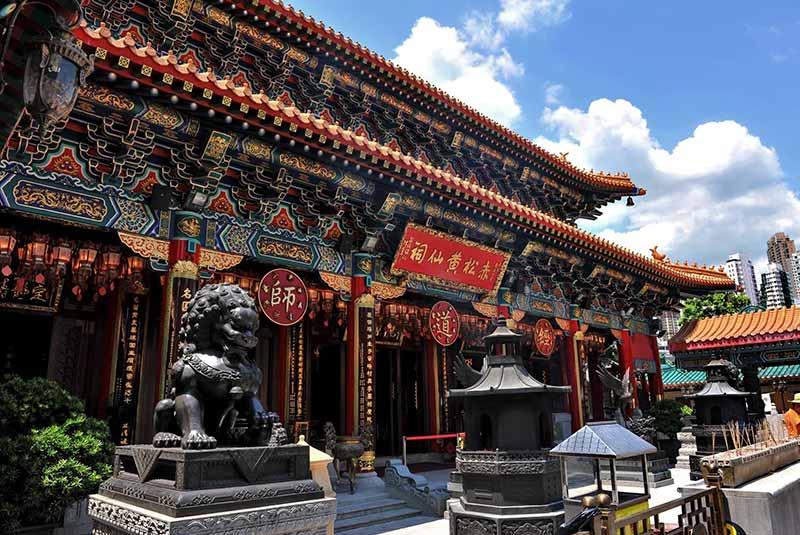 معبد ونگ تای سین در هنگ کنگ
