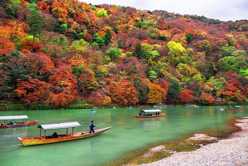 منطقه آراشیاما در کیوتو