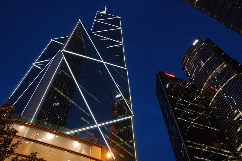 ساختمان های هنگ کنگ