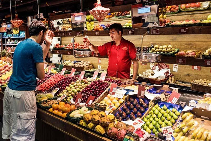 بازارهای مواد غذایی مادرید
