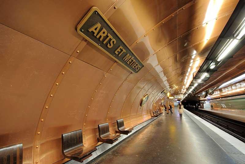 زیباترین ایستگاه های مترو در جهان