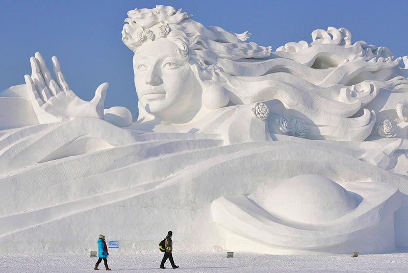 فستیوال یخ هاربین در چین