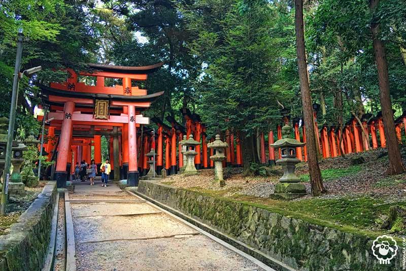 فوشیمی ایناری در کیوتو