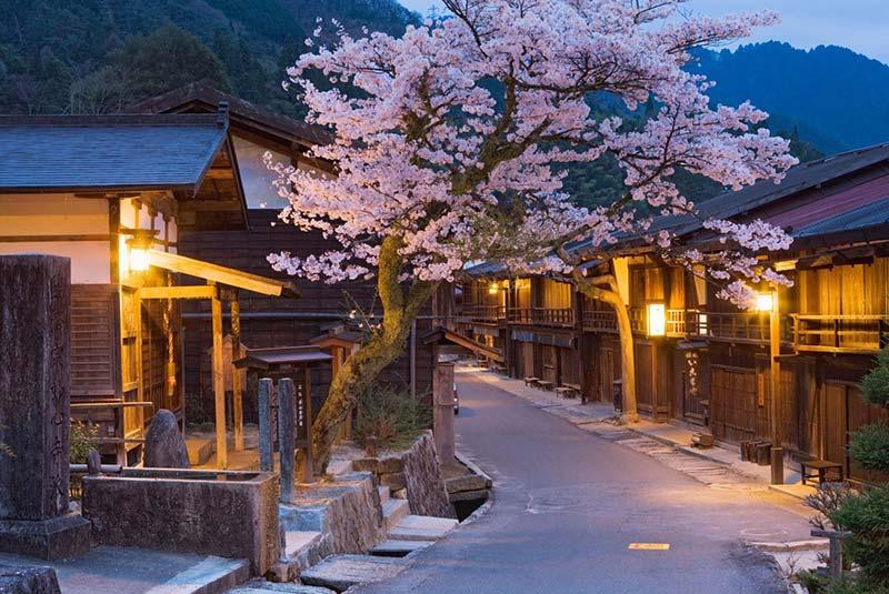 دره کیسو در ژاپن