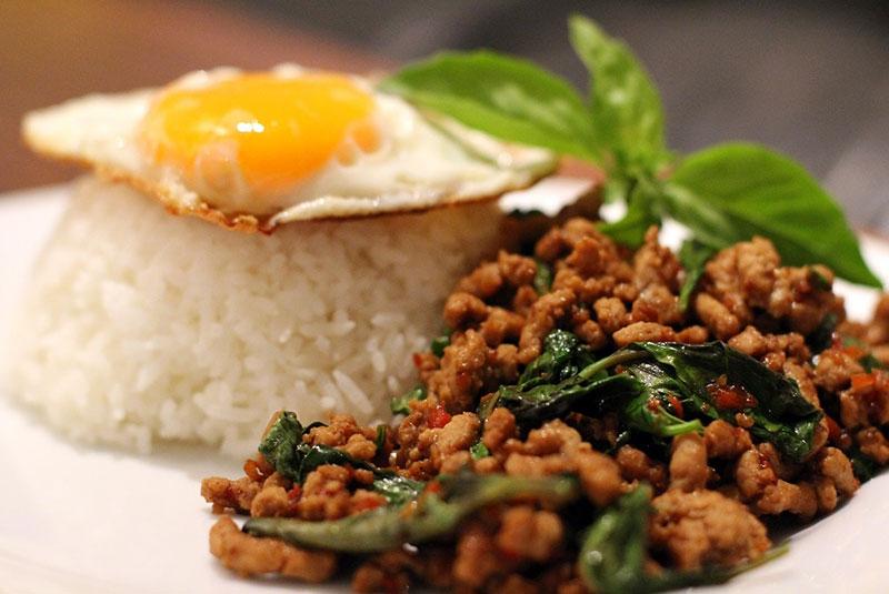 غذاهای تند تایلند