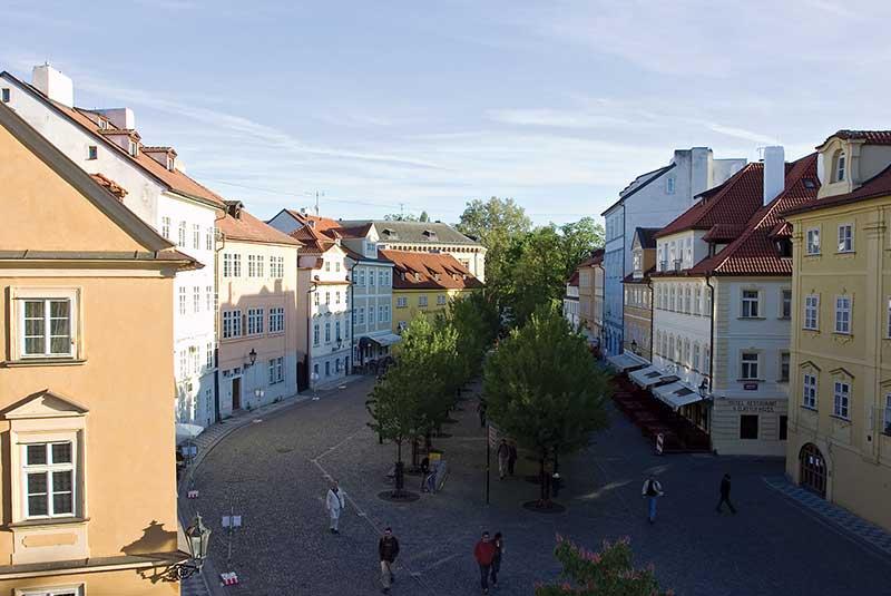 خیابان های پراگ