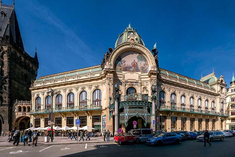 ساختمان شهرداری پراگ