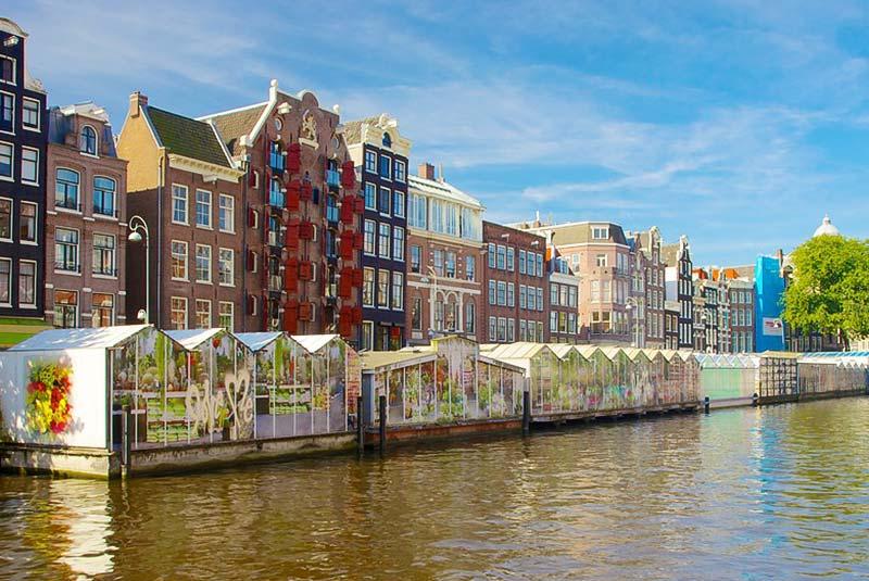 بازار گل آمستردام
